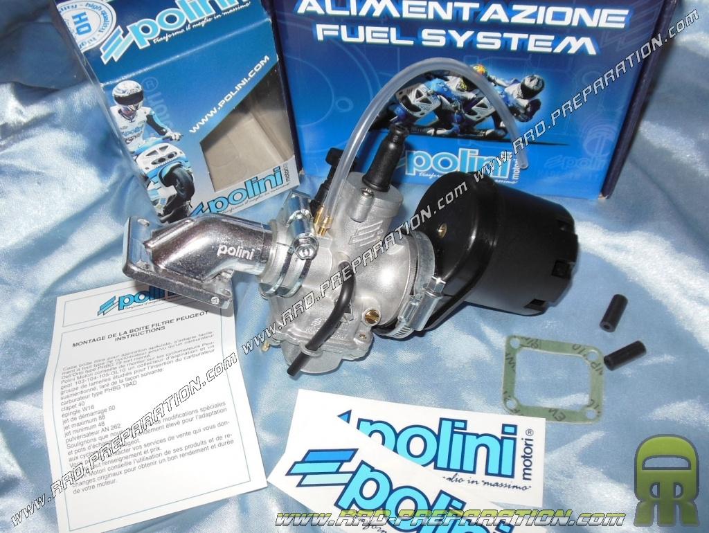 kit carburation 19mm polini peugeot 103 all models. Black Bedroom Furniture Sets. Home Design Ideas