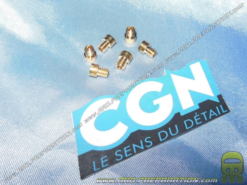 GICLEUR CARBURATEUR 4 TEMPS GY6//139QMB DIAM.4MM 100