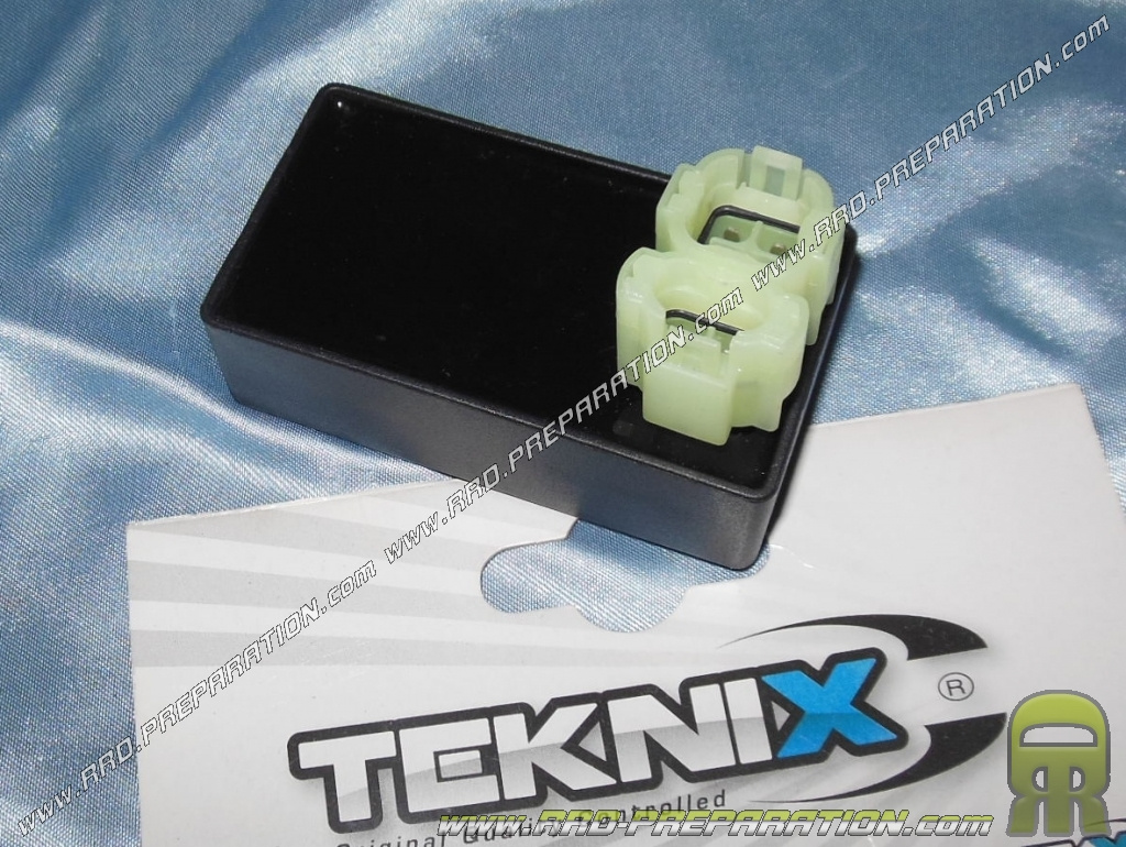cdi block teknix for ignition original chinese scooter 4 stroke 50cc engine gy6 139qmb