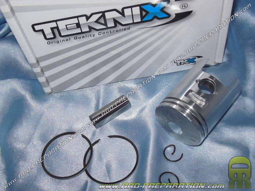 Teknix Piston 40mm For Kit 50cc Fonte On Scooter Honda Kymco And Spark Plug Wiring Harness Bsv Sym