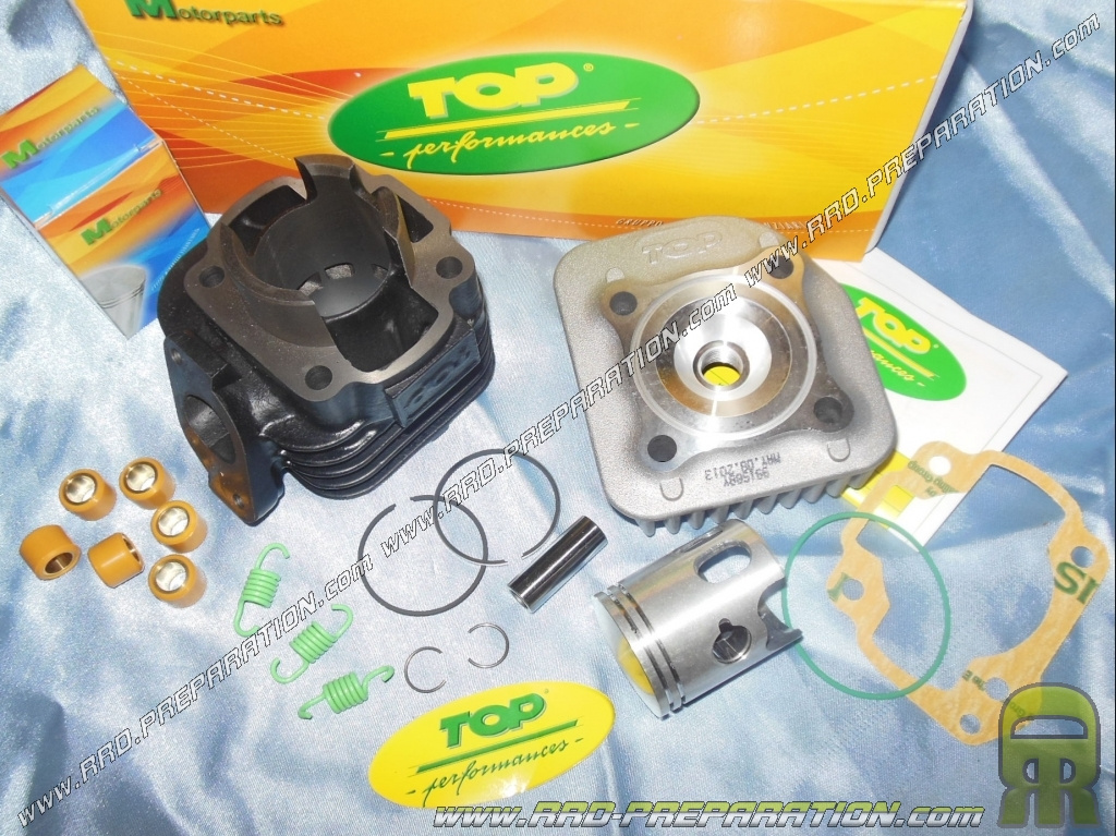 kit 50cc �40mm (axis of 12mm) cast on top performance keeway, cpi