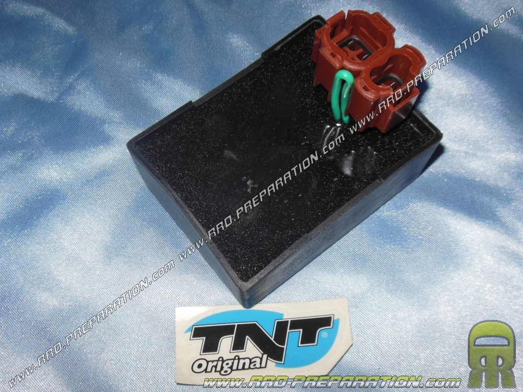 Original TNT CDI block ignition Peugeot V-CLIC, Chinese scooter 4 stroke  50cc engine GY6 139QMB / QMT, GENERIC TRIGGER, SM     -