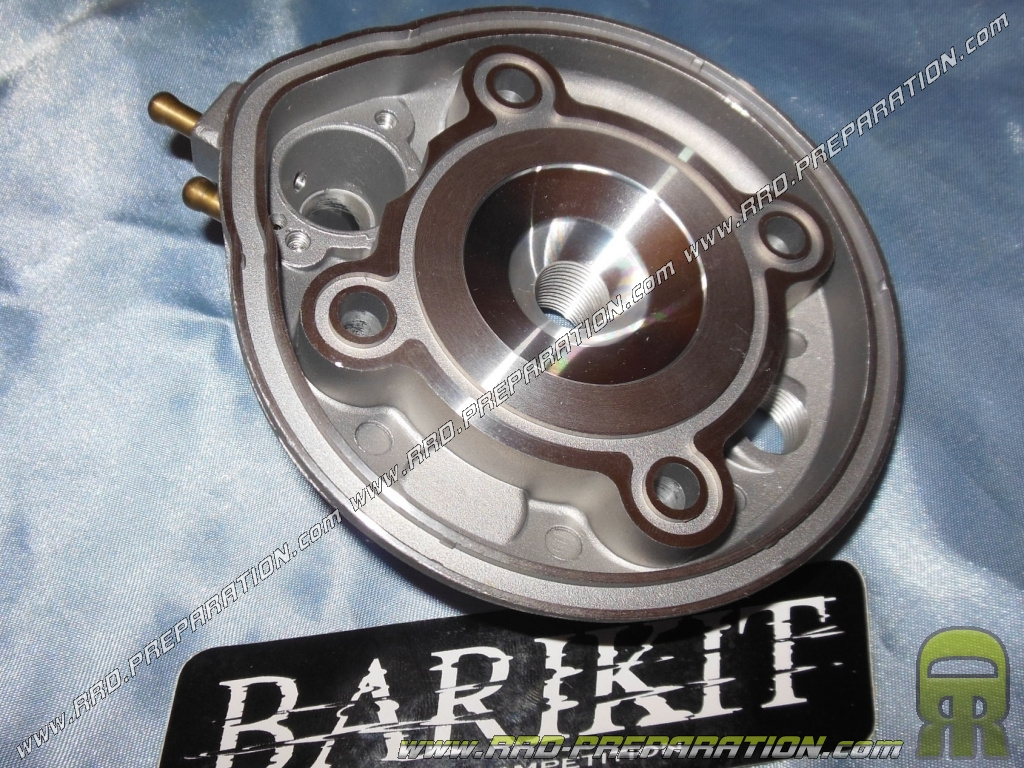 culasse pour kit barikit fonte 40 3mm 50cc ou moteur origine minarelli am6. Black Bedroom Furniture Sets. Home Design Ideas