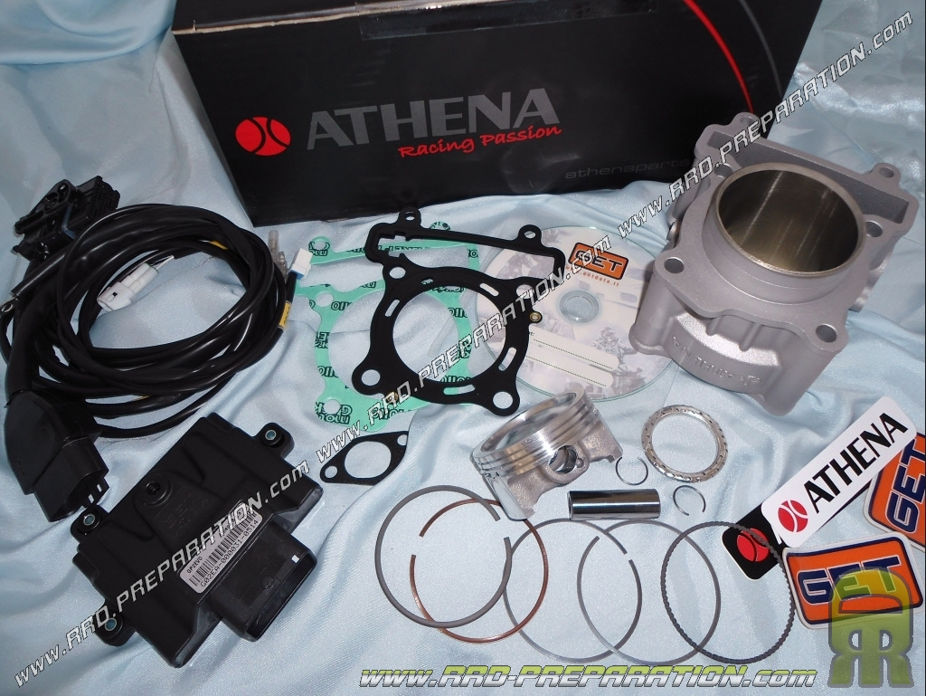 Kit 185cc ATHENA Ø63mm, cylinder / piston + electronic box