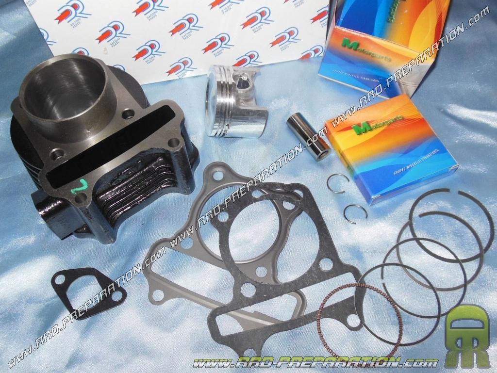 kit 80cc 50mm dr racing fonte sans culasse pour kymco. Black Bedroom Furniture Sets. Home Design Ideas