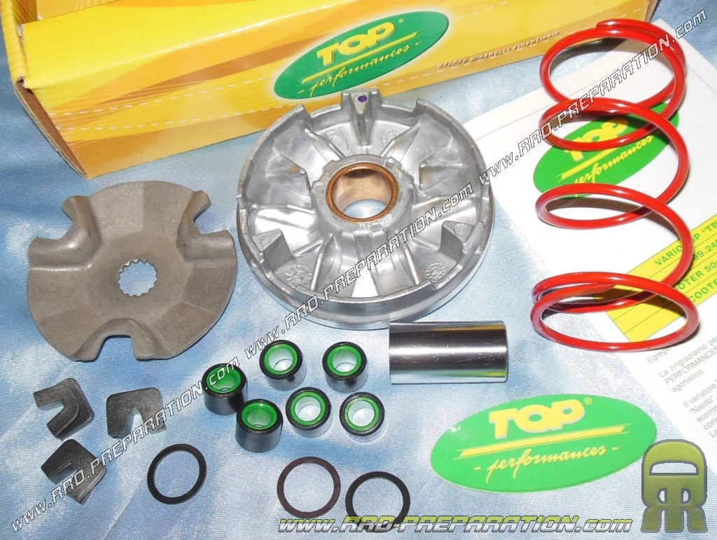 TPR variotop drive (drive, push spring    ) for scooter KEEWAY, CPI,  GENERIC 50cc     - www rrd-preparation com