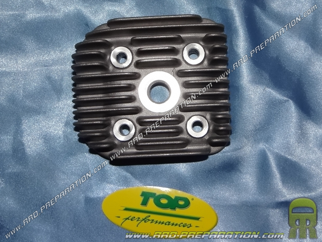 CYLINDRE SCOOT TOP PERF FONTE POUR MBK 50 BOOSTER, STUNT/YAMAMA 50 BWS, SLIDER (BLACK TROPHY) - P2R