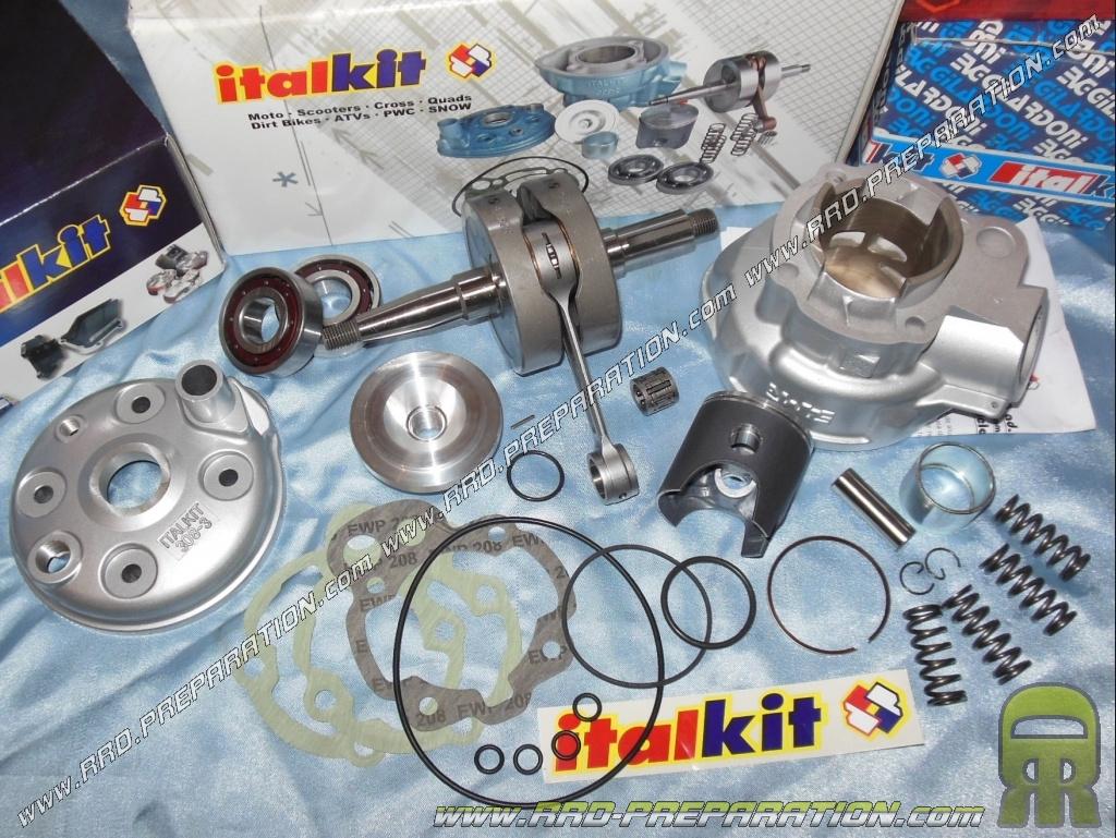 pack italkit racing 80cc 48mm avec vilebrequin course 44 bielle 90mm pour m caboite moteur. Black Bedroom Furniture Sets. Home Design Ideas