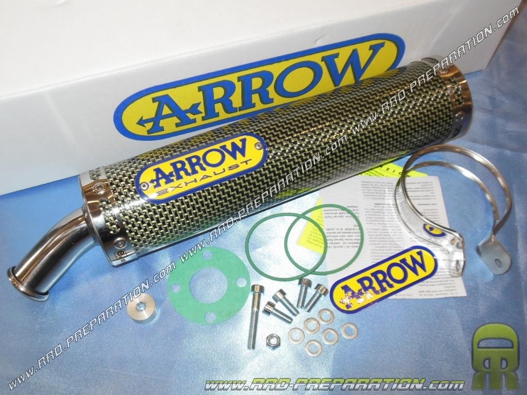 Silencieux seul d 39 chappement arrow kevlar pour cagiva mito 125cc 2 temps 1994 2006 version - Regonfler pot 2 temps ...