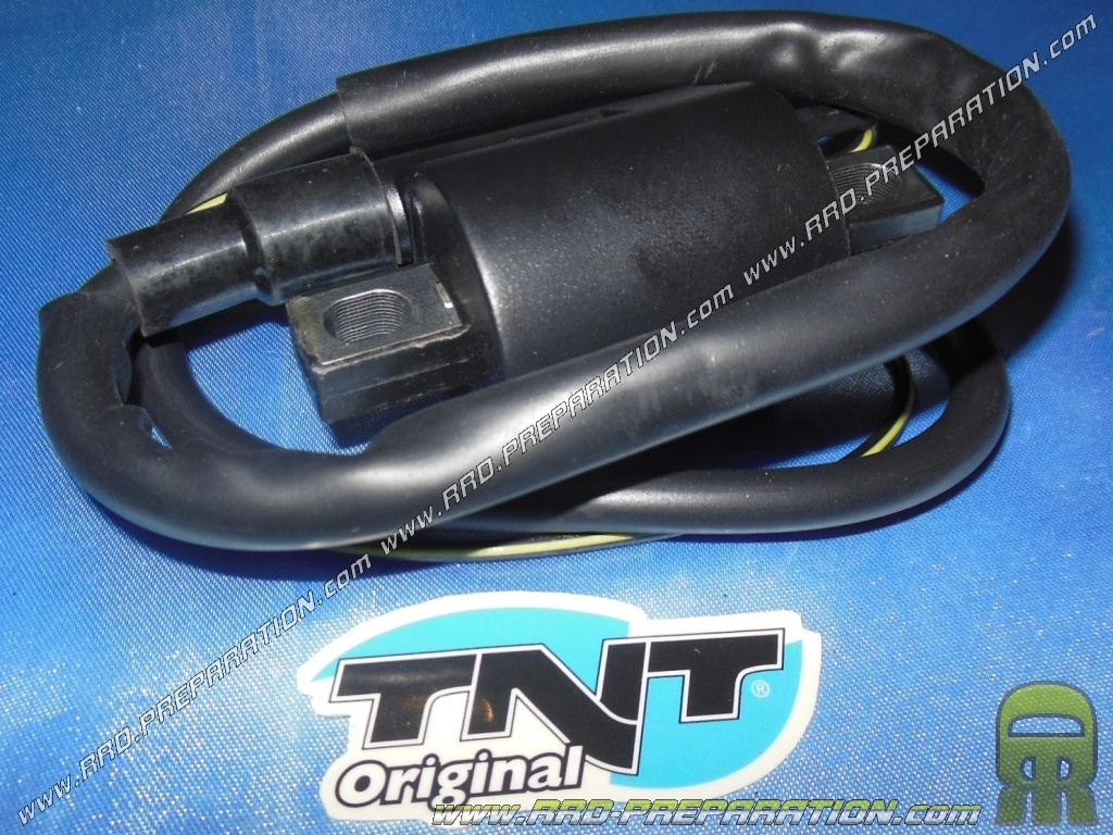 High voltage coil with TNT Original cable for ignition scooter minarelli  booster, nitro, aerox, bw's, PW 50     - www rrd-preparation com