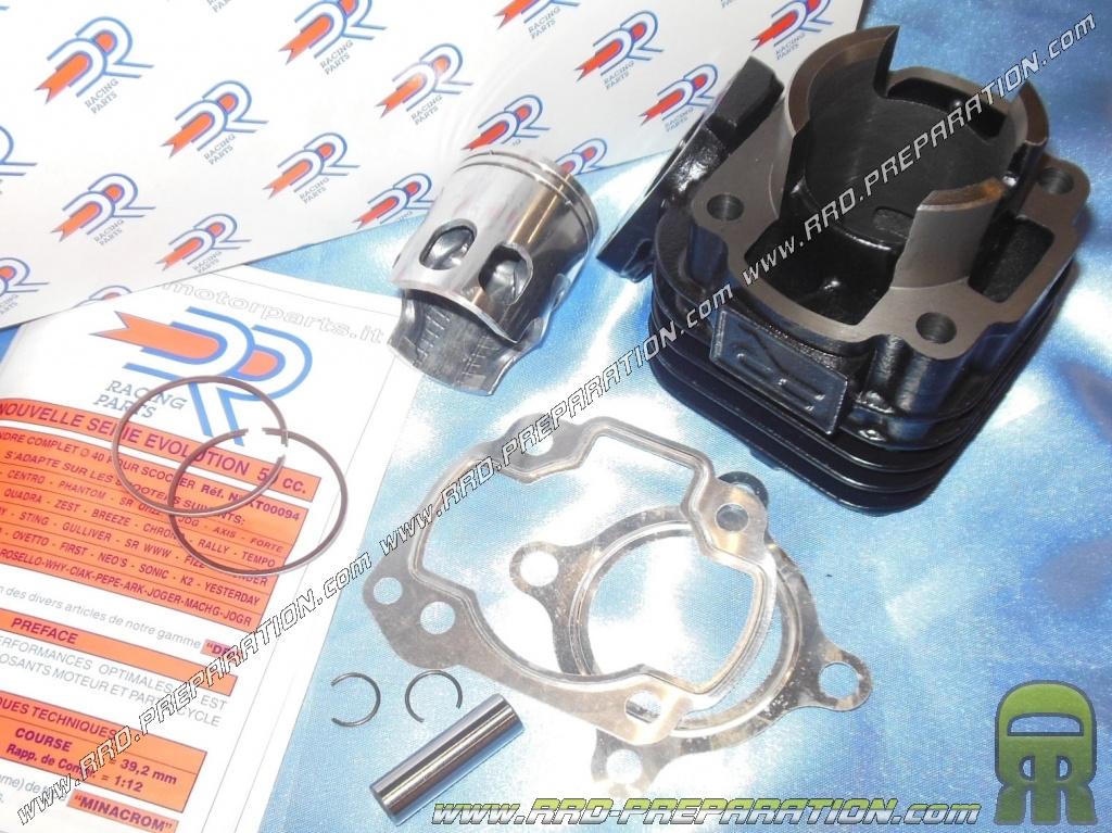 Kit cylindre STANDARD 50cc MBK Nitro 50 partir de 1999