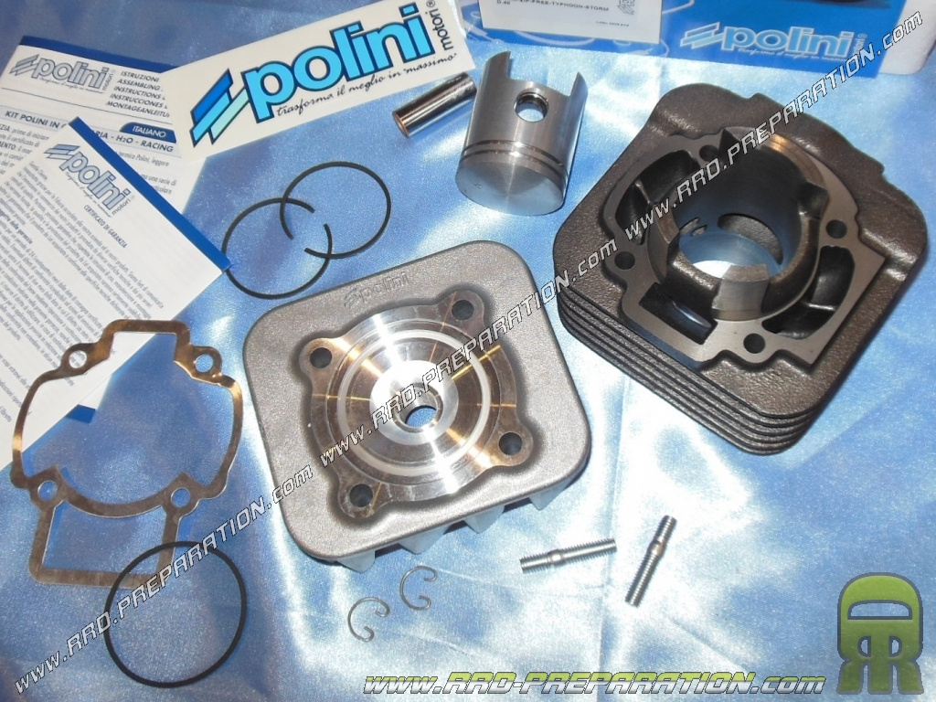 KIT 50 POLINI CYLINDRE PISTON MBK BOOSTER NAKED ROAD NG