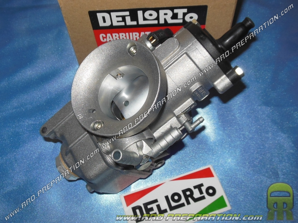 Carburettor DELLORTO PHBE 36 HS choke with lever without separate greasing  nor depression - www rrd-preparation com