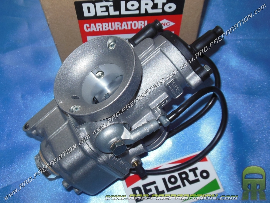Carburettor DELLORTO PHBE 32 HS choke with cable with separate greasing  without depression - www rrd-preparation com