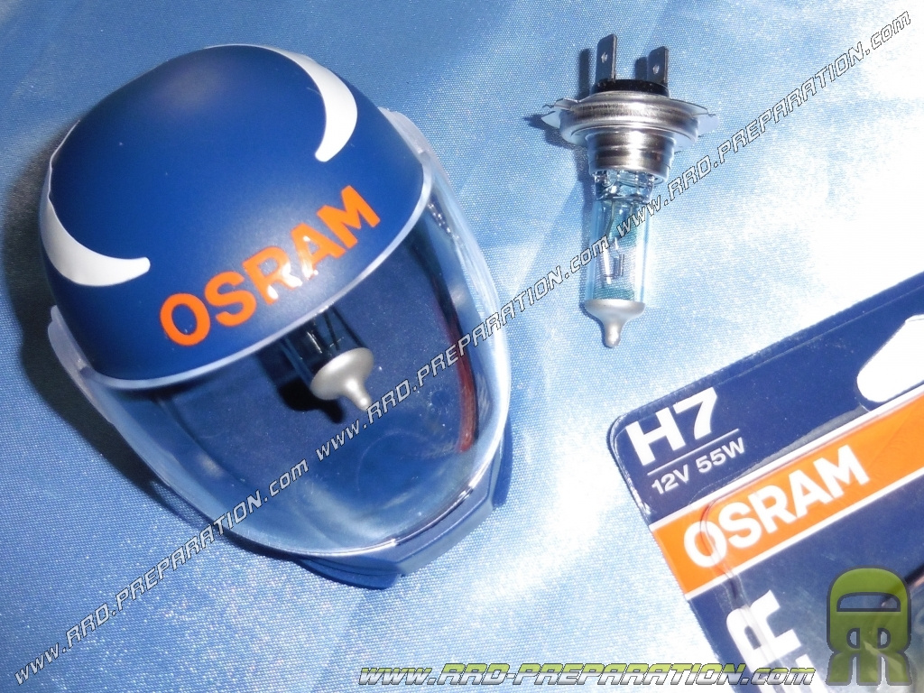 game 2 headlight bulbs osram night racer fire front h7. Black Bedroom Furniture Sets. Home Design Ideas