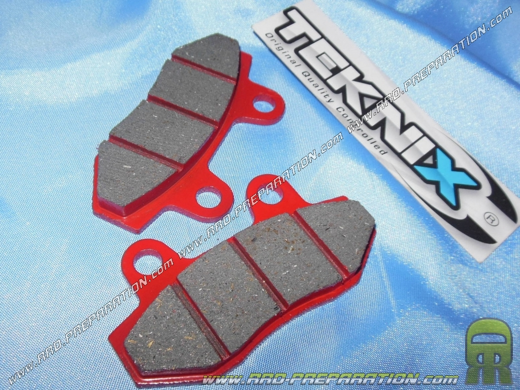 Brake Pads Teknix Scooter Motorcycle Hyosung Comet Gt Xrx Peugeot 50qt Moped Wiring Diagram Speedfight 3 Keeway Ry8 Rks 50 125