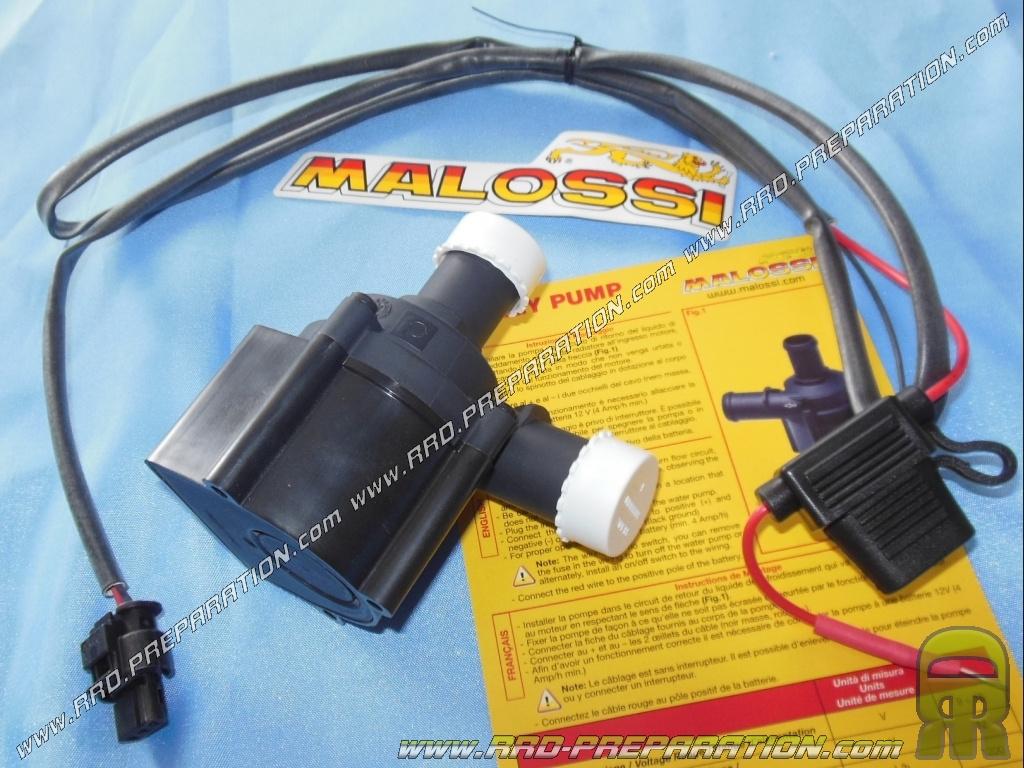 Pompe 224 Eau 233 Lectrique Malossi Mhr Energy Pump 12v