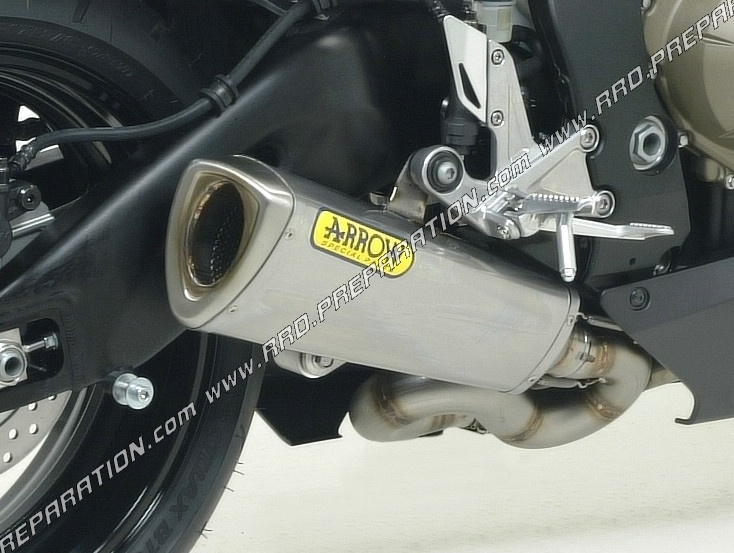 arrow trophy exhaust silencer for honda cbr 1000 r motorcycle from 2008 to 2013 www rrd preparation com
