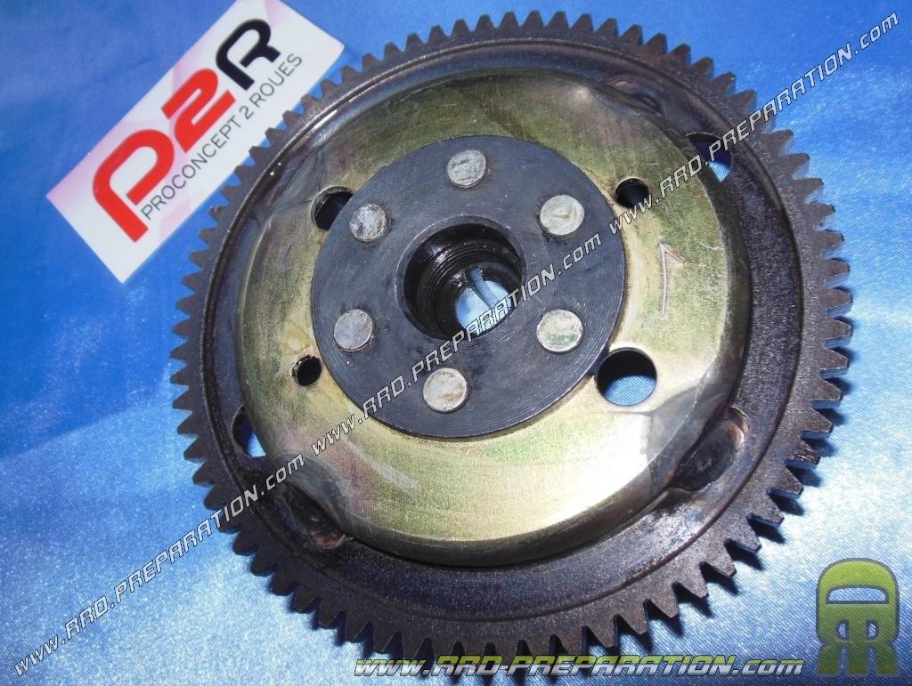 rotor p2r type origine pour allumages origine sur moteur minarelli am6 avec d marreur lectrique. Black Bedroom Furniture Sets. Home Design Ideas