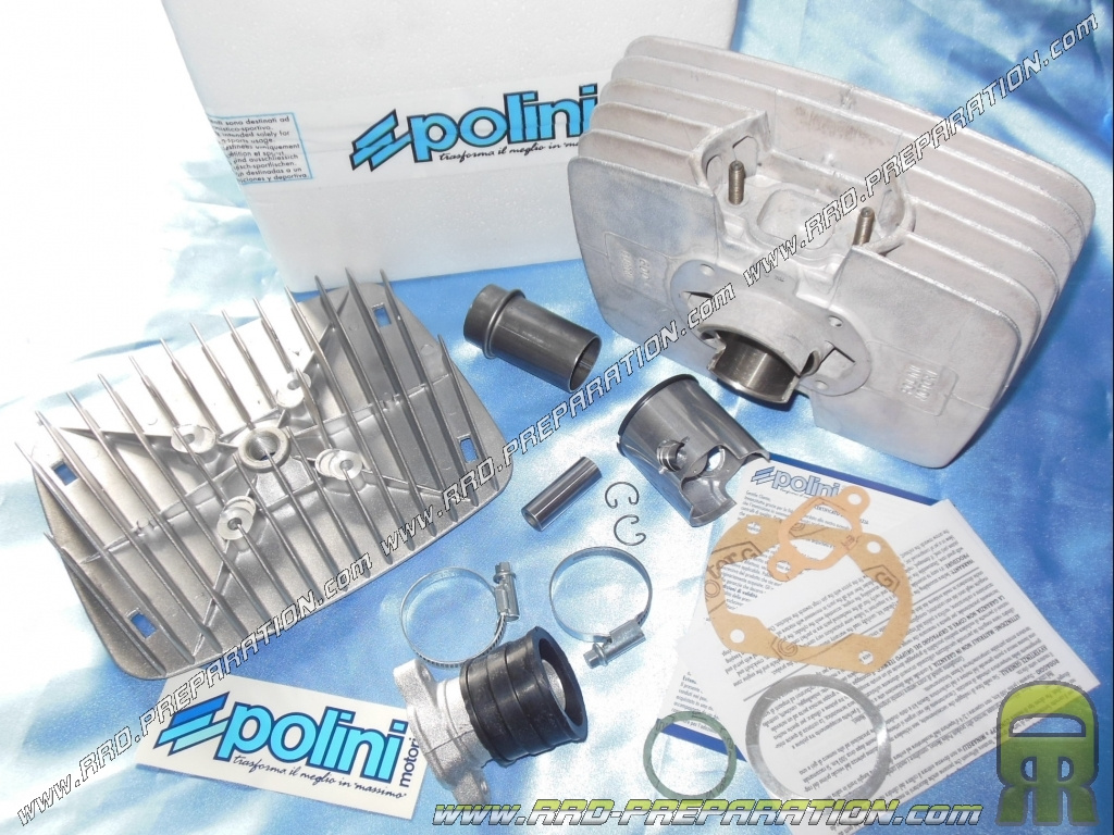 kit 80cc 48mm polini reproduction series 6000 aluminum for sachs. Black Bedroom Furniture Sets. Home Design Ideas