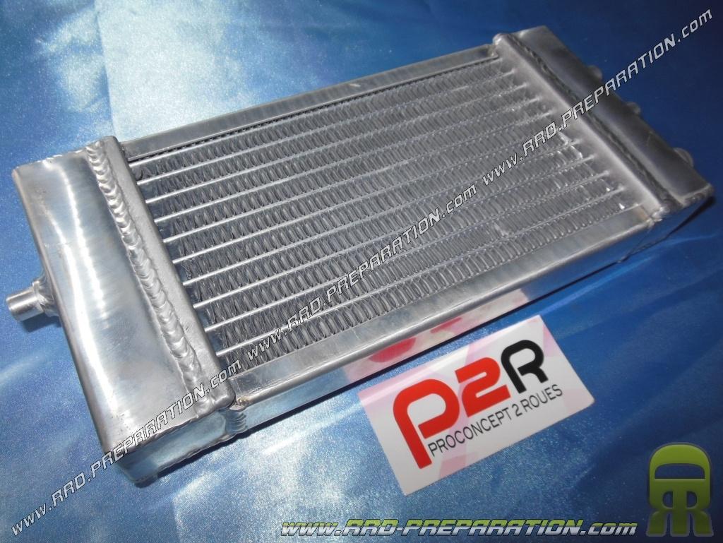 radiateur de refroidissement alu p2r pour derbi senda proto scooter mob m caboite www. Black Bedroom Furniture Sets. Home Design Ideas