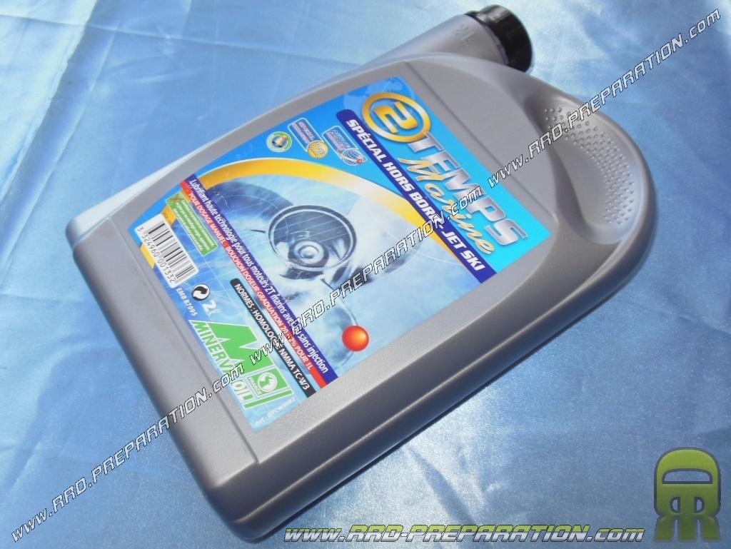 Engine Oil MINERVA OIL MARINE 100 Synthetic 2 Stroke 1l