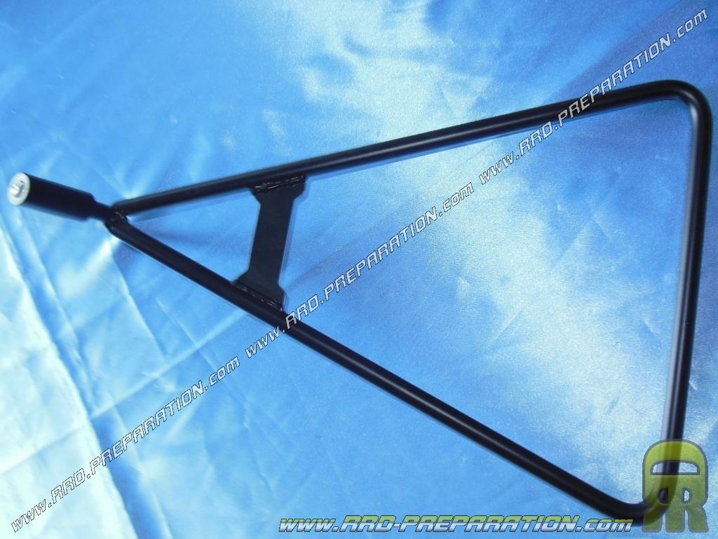Béquille latérale-Triangle de POLISPORT Noir Moto