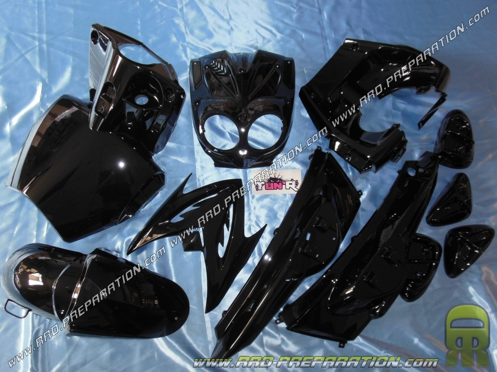 Kit 11 fairing parts for TUN 'R booster STUNT white or black painted with  the choices