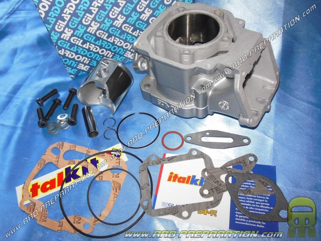 140cc ITALKIT kit for 125cc ROTAX 122 engine, aprilia RS, AF1, EUROPA,  PEGASO, and other 2-stroke - www rrd-preparation com