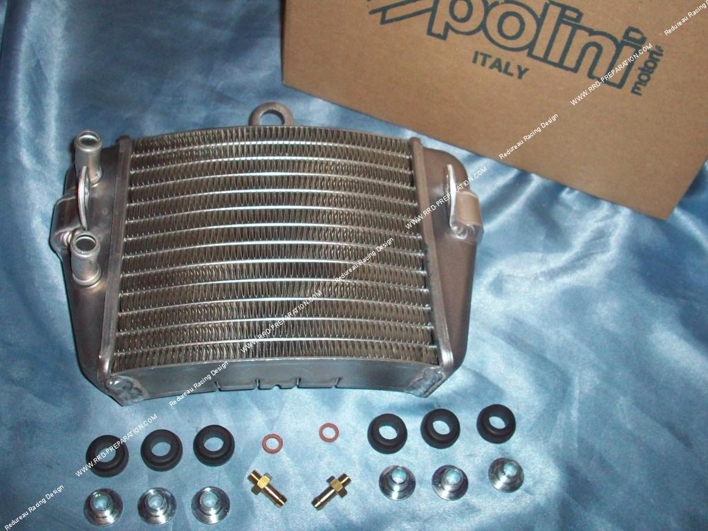 Radiateur de refroidissement alu 22x14x17cm voil for Quel puissance de radiateur
