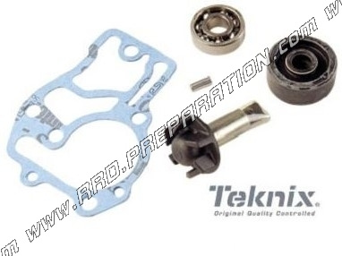 TEKNIX water pump for 50cc 4 stroke scooter MBK BOOSTER X, NITRO, OVETTO,  YAMAHA GIGGLE, AEROX, C3, NEO'S     - www rrd-preparation com