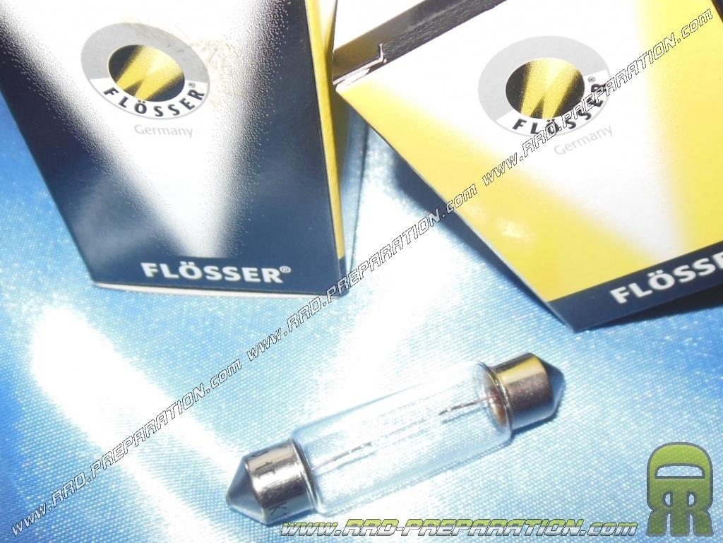 ampoule navette sv8 5 clairage de plaque plafonnier fl sser lampe 6v 10w. Black Bedroom Furniture Sets. Home Design Ideas