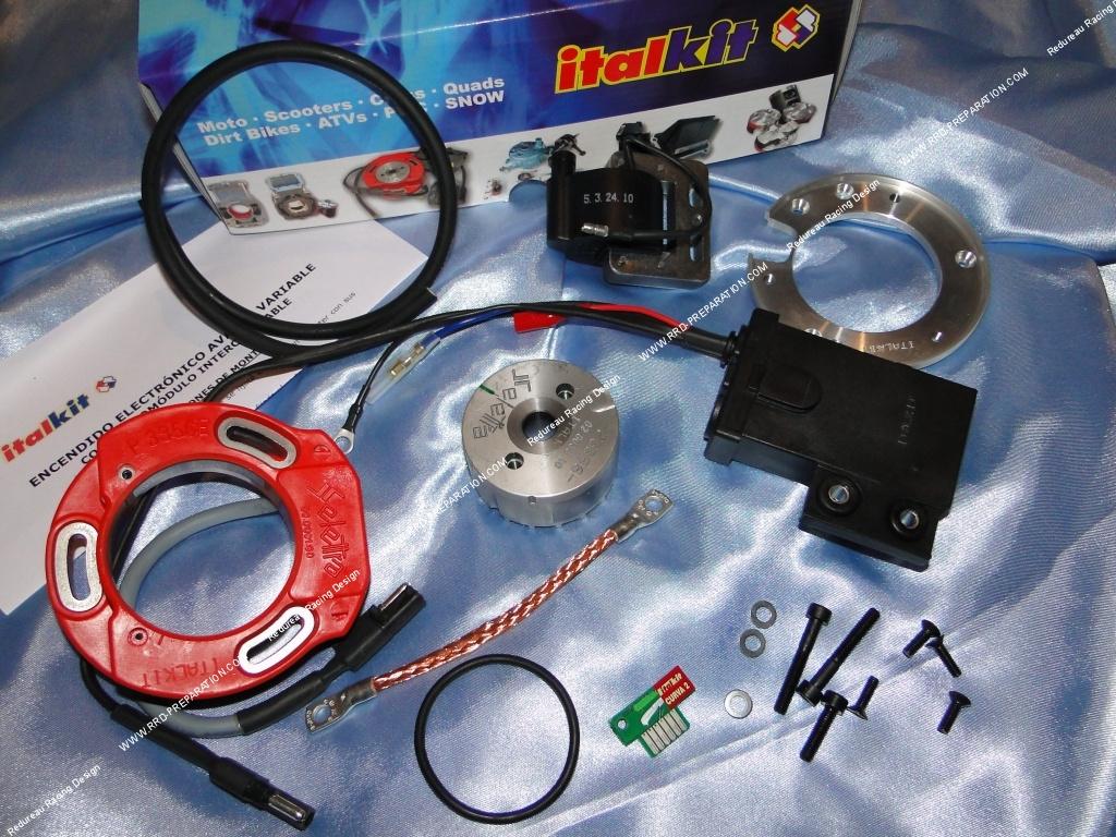 DIGITAL SELETTRA ITALKIT ignition internal rotor for motor bike 125cc GAS  GAS - www rrd-preparation com