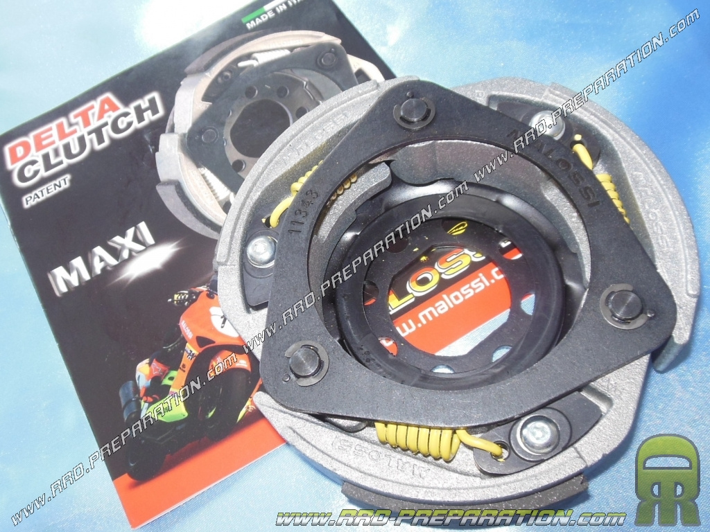 Clutch MAXI DELTA CLUTCH MALOSSI MHR for maxi-scooter 125 ...