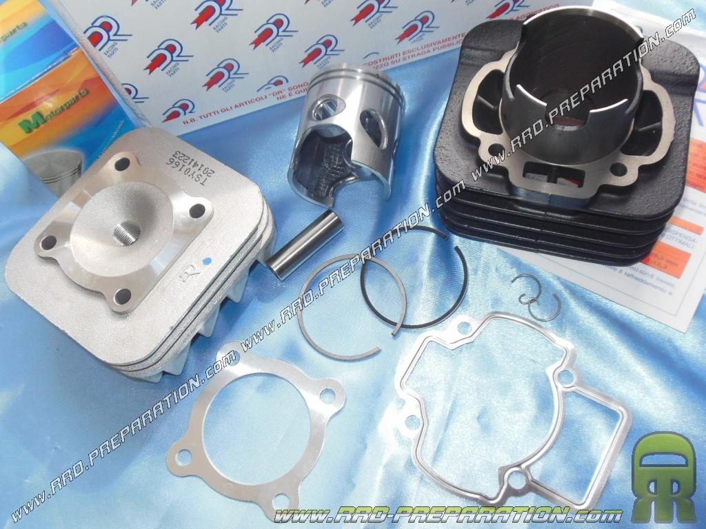kit 70cc Ø48mm dr racing bi-cast segment piaggio / gilera air
