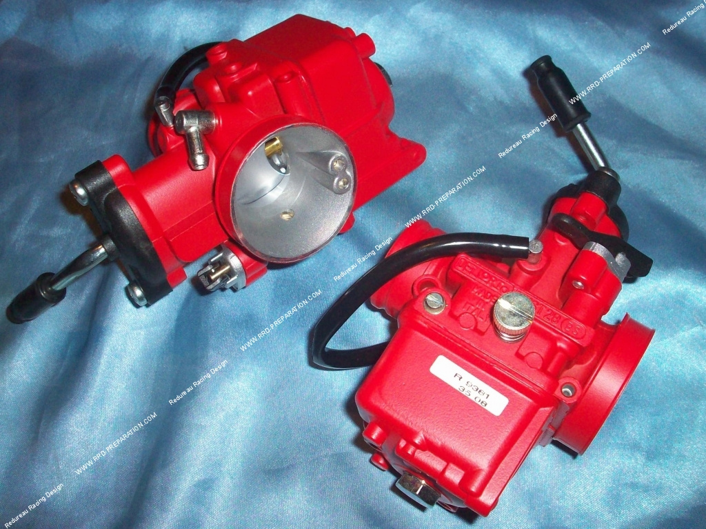 dellorto carburetor 28 vhst bs racing red soft starter edition without greasing a separate lever. Black Bedroom Furniture Sets. Home Design Ideas