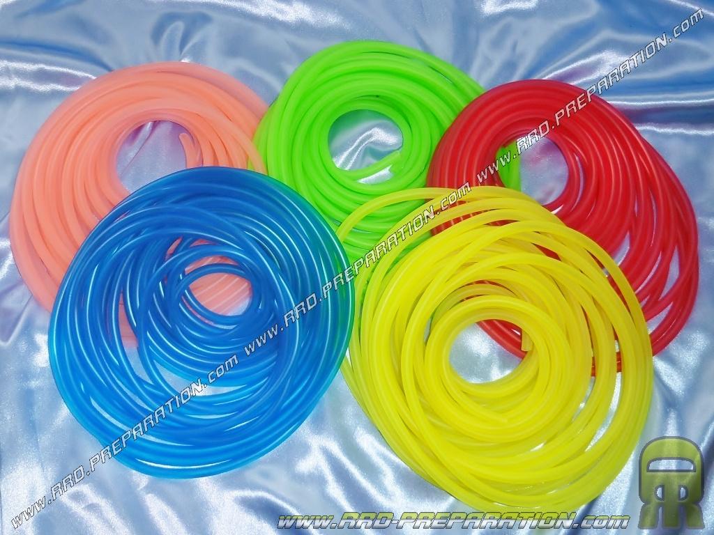durite d'essence tun'r Ø5x8mm (30cm) tuning couleur aux choix - www