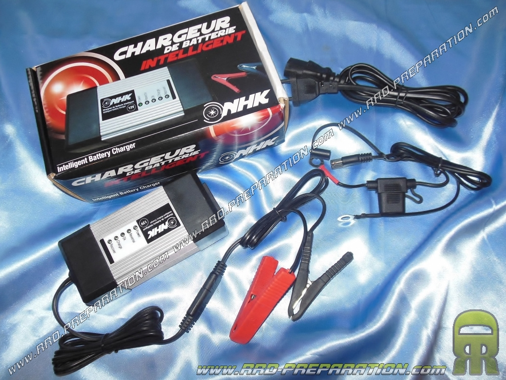 Chargeur de batterie et maintien de charge nhk 12v 2ah - Maintien de charge batterie ...