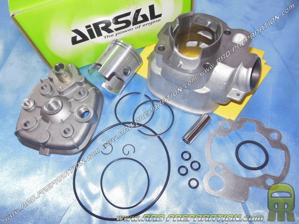 Peugeot XP6 50  Airsal 70.5cc Sport Cylinder Piston Head Kit