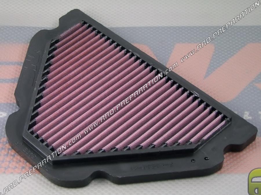 filtre air dna racing pour bo te air d 39 origine sur moto kawasaki ninja zx 9r de 1998 2002. Black Bedroom Furniture Sets. Home Design Ideas
