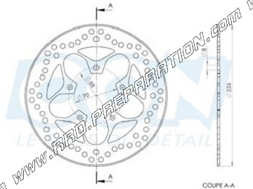front and rear brake disc �226mm ng elystar peugeot jet force, tweet 125cc