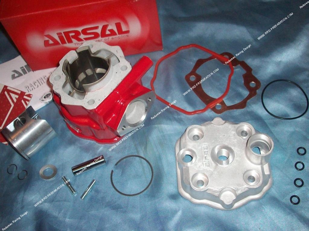 kit 88cc haut moteur 50mm airsal xtrem rouge sp cial. Black Bedroom Furniture Sets. Home Design Ideas