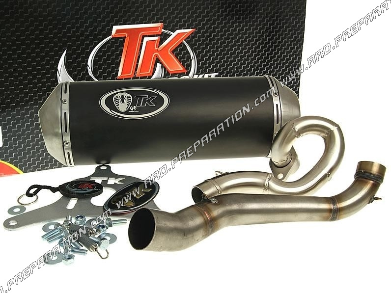 exhaust turbo kit tk maxi scooter suzuki burgman 125 and 150cc before 2007. Black Bedroom Furniture Sets. Home Design Ideas