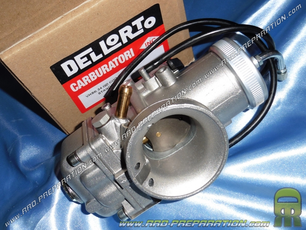 Carburettor DELLORTO 34 flexible QD VHSB choke lever without separate  greasing nor depression