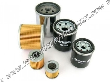 oil filter ATHENA for maxi-scooter 4-stroke Aprilia LEONARDO SCARABEO,  PEUGEOT ELYSTAR, 125cc and 150cc ELYSEO