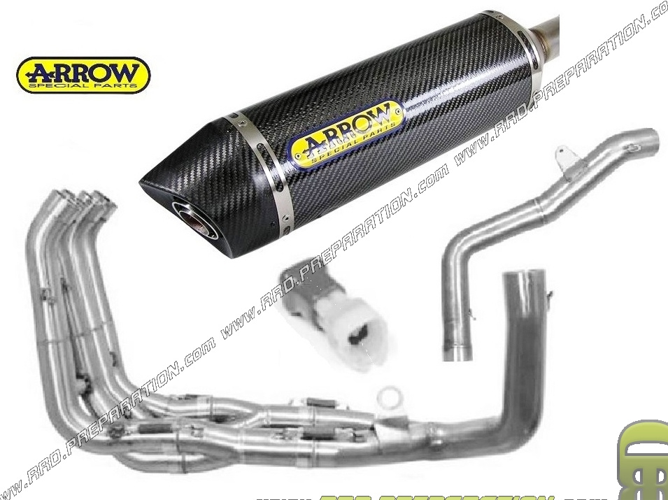 Complete Exhaust System Arrow Maxi Race Tech For Honda Cbr 600 Rr From 2005 To 2006