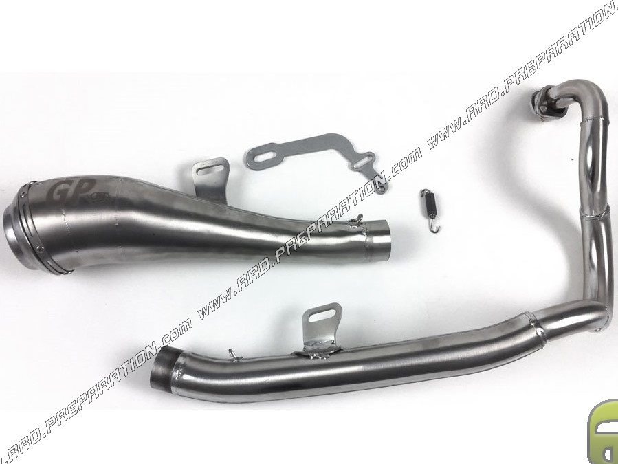 exhaust turbokit tk gp for keeway rks 125cc 4t from 2014