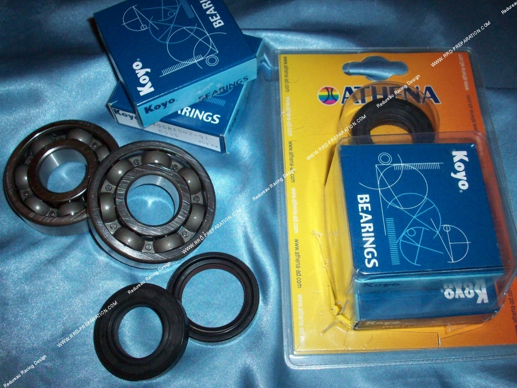 2 bearings joined spy spinnaker crankshaft reinforced athena motorcycle 125cc 2t yamaha dt. Black Bedroom Furniture Sets. Home Design Ideas