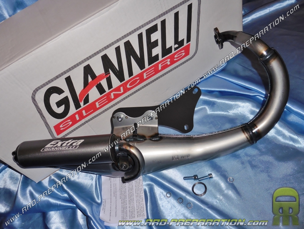 Exhaust GIANNELLI EXTRA V2 for scooter engine PEUGEOT Vertical Air and  Liquid (trekker, speedfight, buxy    ) - www rrd-preparation com
