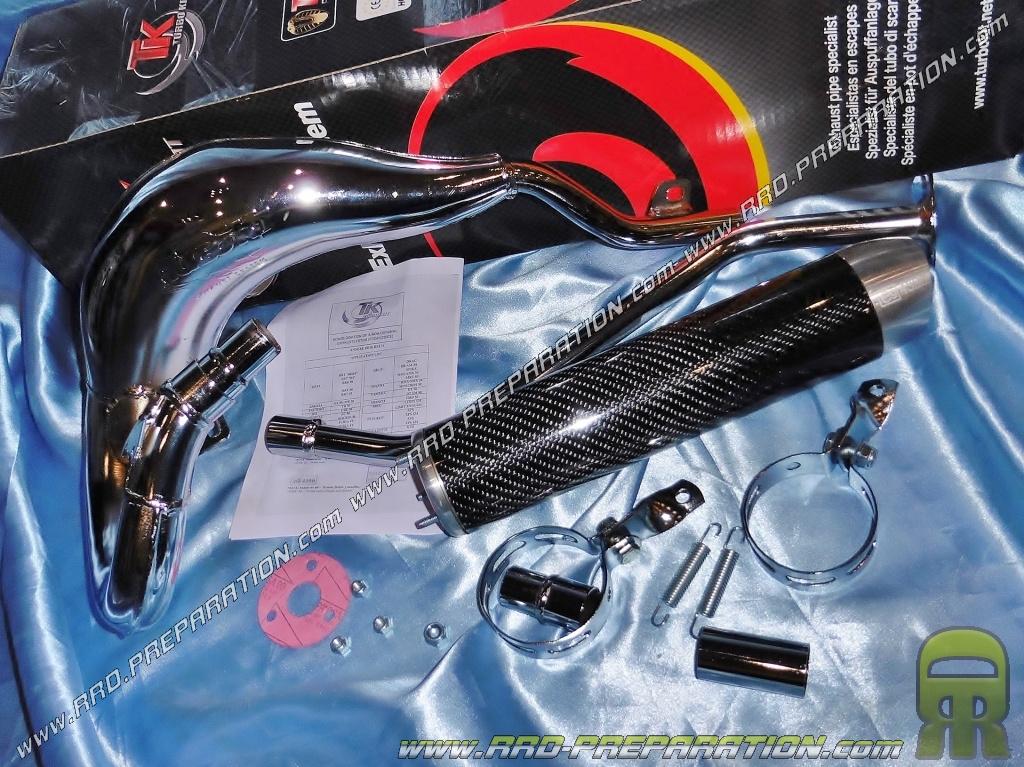 D/échappement Turbo Kit Carreras 80/Chrome/ /Rieju SMX 50/AM6